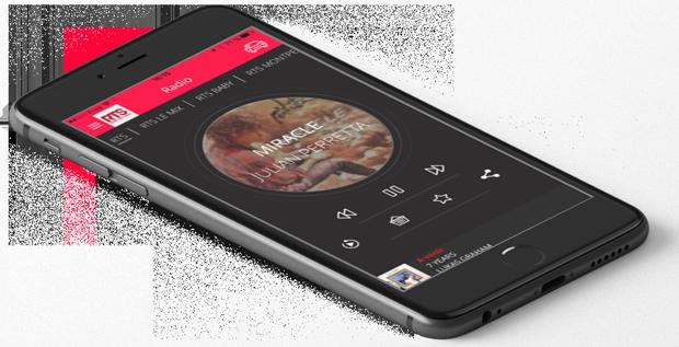 Application RTS sur votre téléphone